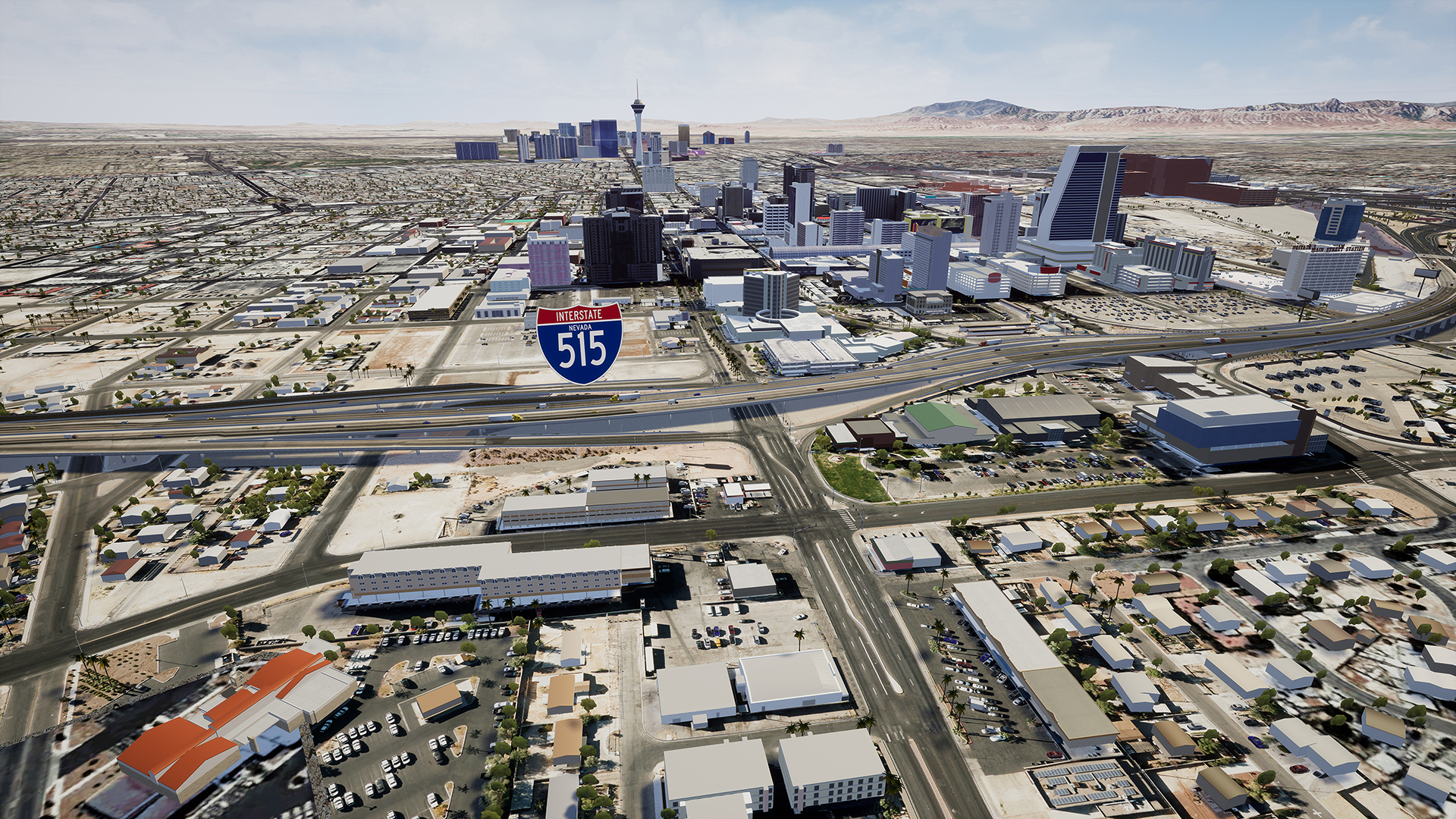 I-515 near las vegas blvd existing conditions